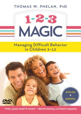 1-2-3 Magic (Dvd): Managing Difficult Behavior in Children 2-12 - Phelan, Thomas W.