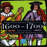 1600-1700: Monteverdi, Schutz, Marais, et al - Cantus Cölln; Gradus Ad Parnassum; Harp Consort; Le Trio Royal; Musica Fiata