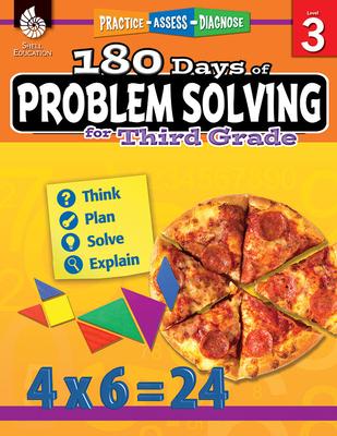 180 Days of Problem Solving for Third Grade (Grade 3): Practice, Assess, Diagnose - Kemp, Kristin