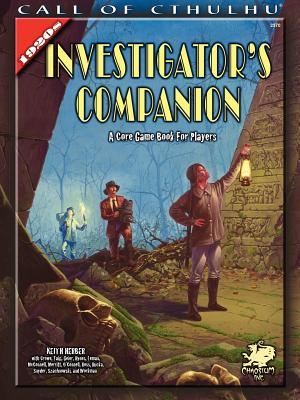 1920s Investigator Companion - Herber, Keith