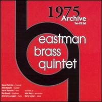 1975 Archive - Barry Snyder (piano); Eastern Brass Quintet; Eastman Brass Quintet; John Beck (percussion)