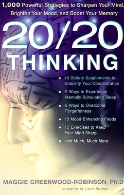 20/20 Thinking Pa - Greenwood-Robinson, Maggie, PH.D.