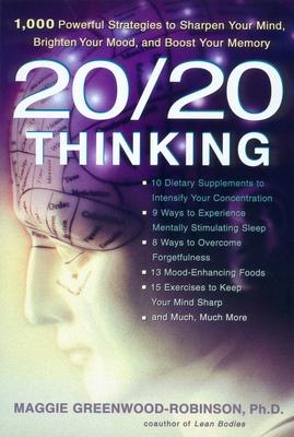 20/20 Thinking Pa - Greenwood-Robinson, Maggie, PH.D.