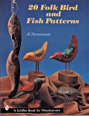 20 Folk Bird & Fish Patterns - Streetman, Al