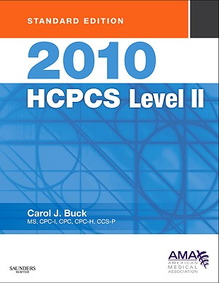 2010 HCPCS Level II Standard Edition - Buck, Carol J, MS, Cpc