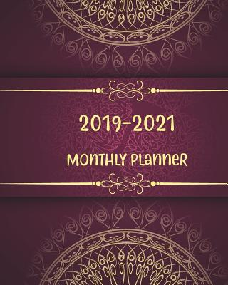 2019-2021 Monthly Planner: Beautiful Mandala Cover, Daily, Monthly Calendar 36 Months Calendar Agenda Planner with Holiday 8 X 10 - Stallworth, Joni