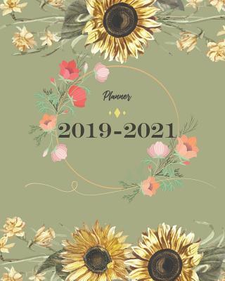 2019-2021 Planner: Sun Flower Cover for Monthly Schedule Organizer 36 Months Calendar Agenda Planner with Holiday - Stallworth, Joni