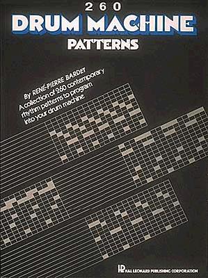 260 Drum Machine Patterns - Hal Leonard Corp (Creator)