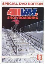 411 Video Magazine: Snowboarding, Vol. 3