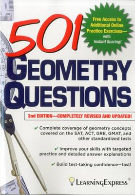 501 Geometry Questions - LLC, Learning Express