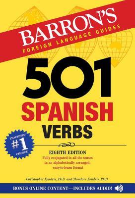 501 Spanish Verbs - Kendris, Christopher