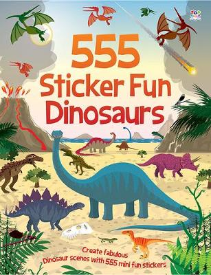 555 Sticker Fun Dinosaurs - Graham, Oakley