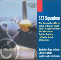633 Squadron; The Dambusters March, etc. - Royal Air Force College Band, Cranwell/D.S. Stephens