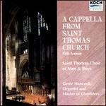 A Capella from Saint Thomas Church