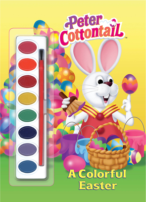 A Colorful Easter (Peter Cottontail) - Golden Books
