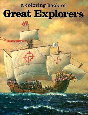 A Coloring Book of Great Explorers book by Bellerophon Books, Eric ...