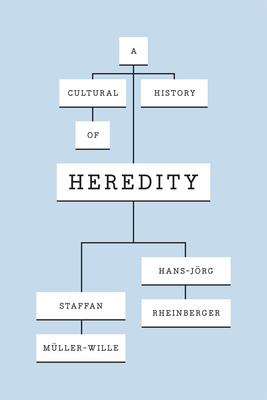 A Cultural History of Heredity - Muller-Wille, Staffan, and Rheinberger, Hans-Jorg