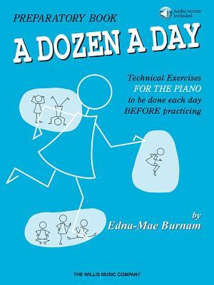 A Dozen a Day Preparatory Book - Book/Audio - Burnam, Edna Mae