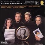 A Goethe Schubertiad