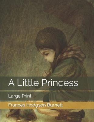 A Little Princess: Large Print - Burnett, Frances Hodgson