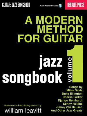 A Modern Method for Guitar - Jazz Songbook, Vol. 1 - Baione, Larry (Composer)