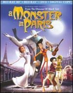 A Monster in Paris [3 Discs] [Includes Digital Copy] [3D] [Blu-ray/DVD]