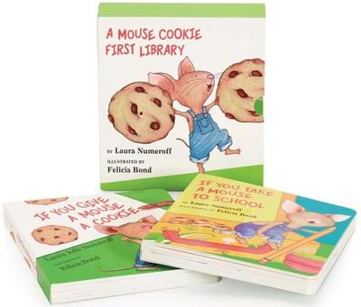 A Mouse Cookie First Library - Numeroff, Laura Joffe