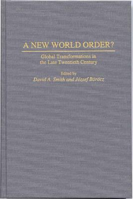 globalization and new world order essay A new world order: grassroots movements for global change london july 2005 additional resources.