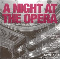 A Night at the Opera, The World's Greatest Operas - Alberto Rinaldi (vocals); Alessandro Maddalena (vocals); Anna Pedrotti (vocals); Anne Pashley (vocals);...