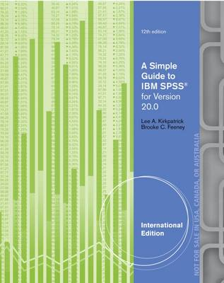 A Simple Guide to IBM SPSS: For Version 20 0 book by Lee A