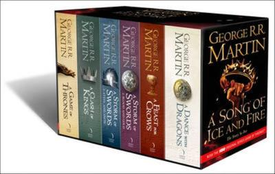 A Song of Ice and Fire - A Game of Thrones: The Story Continues: The Complete Box Set of All 6 Books - Martin, George R R