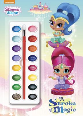 A Stroke of Magic (Shimmer and Shine) - Golden Books