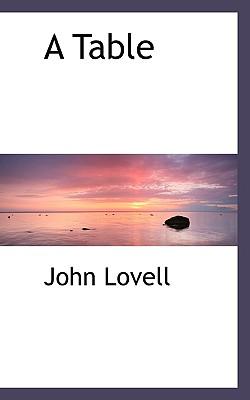 A Table - Lovell, John