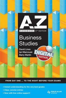A-Z Business Studies Handbook - Marcouse, Ian