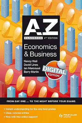 A-Z Economics and Business Handbook - Wall, Nancy