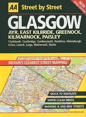 AA Street by Street Glasgow - AA Publishing (Creator)