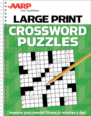 AARP Large Print Crossword Puzzles - Publications International Ltd