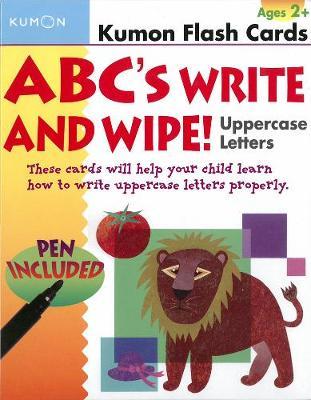Abcs Uppercase Write & Wipe - Kumon Publishing (Creator)