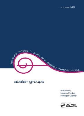 Abelian Groups - Fuchs, Laszlo (Editor)