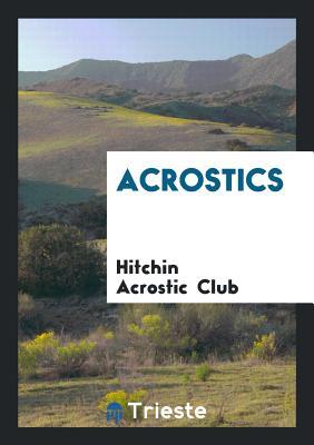 Acrostics - Club, Hitchin Acrostic