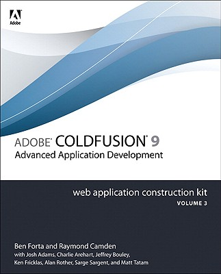 Adobe Coldfusion 9: Getting Started - Forta, Ben