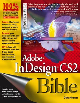 Adobe Indesign Cs2 Bible - Gruman, Galen