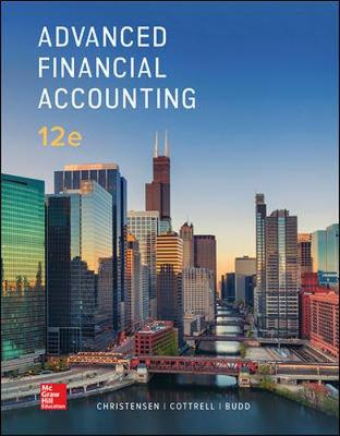 Advanced Financial Accounting - Christensen, Theodore, and Cottrell, David, and Budd, Cassy