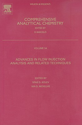 Advances in Flow Injection Analysis and Related Techniques - Kolev, Spas D