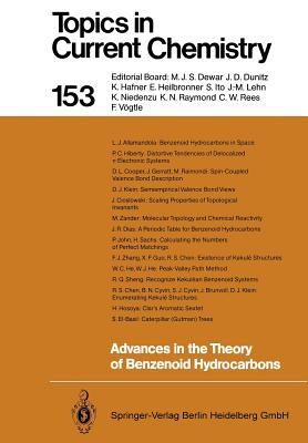 Advances in the Theory of Benzenoid Hydrocarbons - Gutman, Ivan (Editor), and Allamandola, Louis J, and Cyvin, Sven J (Editor)