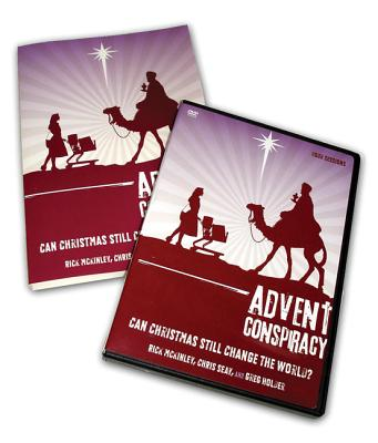 Advent Conspiracy Study Pack: Can Christmas Still Change the World? - McKinley, Rick, and Seay, Chris, and Holder, Greg