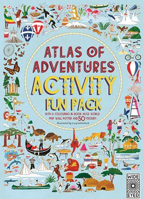 Adventures Activity Fun Pack (Us): With a Coloring-in Book, Huge World Map Wall Poster, and 50 Stickers -