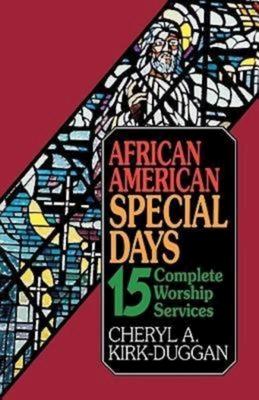 African American Special Days - Kirk-Duggan, Cheryl, Dr.