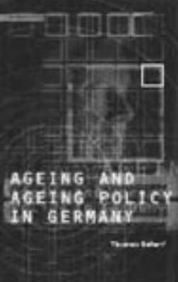 Age and Ageing Policy in Germany - Scharf, Thomas