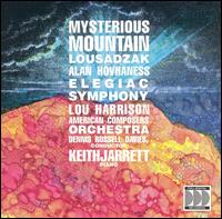 Alan Hovhaness: Mysterious Mountain, Lousadzak; Lou Harrison: Elegiac Symphony - Keith Jarrett (piano); American Composers Orchestra; Dennis Russell Davies (conductor)